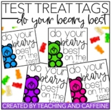 Testing Motivation Treat Tag (Do Your Beary Best)