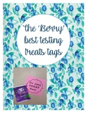 Do Your 'Berry' Best Testing Tags