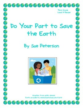 Do Your Part to Save the Earth