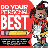 Do Your Personal Best! {Beginning of the Year Activities}