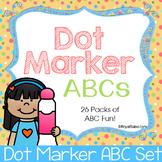 Do a Dot Alphabet Packs
