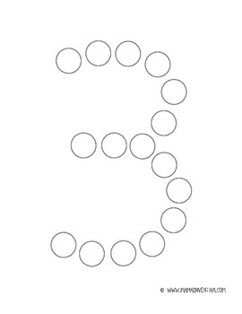Do a Dot - Numeros/Numbers