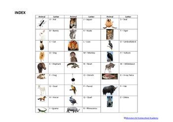 Do-a-Dot alphabet animals - CAPITALS