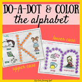 Do-a-Dot and Color the Alphabet: Plus Beginning Sounds