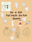 Do-a-dot Fall Packet