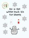 Do-a-dot Winter Packet