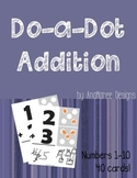 Do-a-dot Addition Math Worksheets