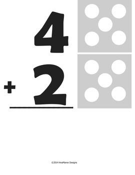 Do-a-dot Addition Math Worksheets