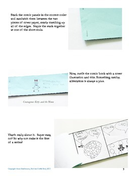 Do it Yourself Comic Books for Kids
