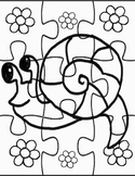 Do it Yourself Snail Puzzle