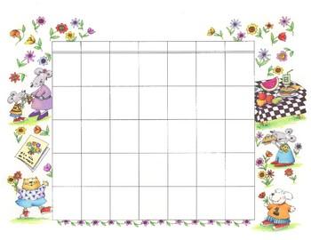 Do-it-yourself Calendario Español - abril, mayo, junio