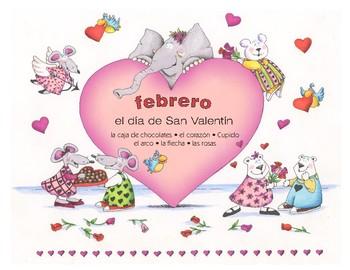 Do-it-yourself Calendario Español - enero • febrero • marzo