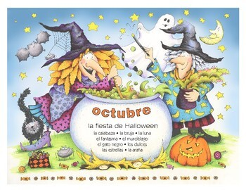 Do-it-yourself Calendario Español - octubre • noviembre • diciembre