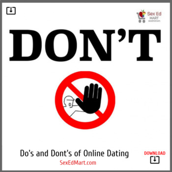 Do's and Don't's of Online Dating Activity Kit