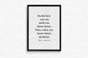 Do the Best You Can Poster
