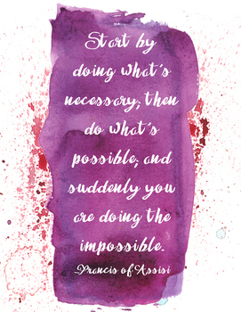 Do the Impossible Poster
