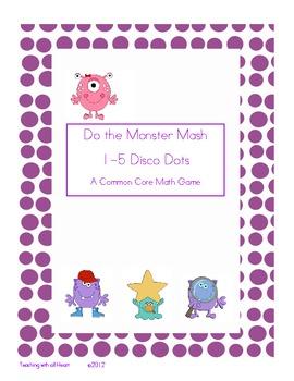 Do the Monster Mash!  Disco Dots 1-5