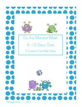 Do the Monster Mash!  Disco Dots 6-10