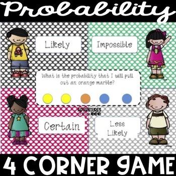 Do the Probability Polka - a 4 Corner Game