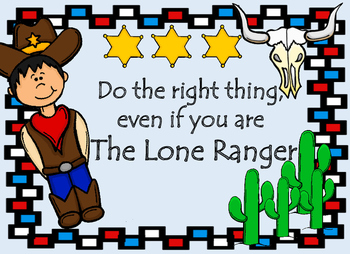 Do the Right Thing  The Lone Ranger Anti bullying