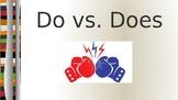 Do vs. Does