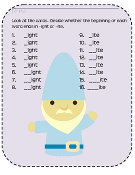 Do you GNOME your -ight and... by TeacherGoneHomeschool | Teachers ...
