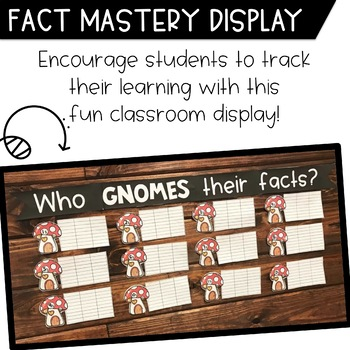 Do you KNOME your multiplication facts?