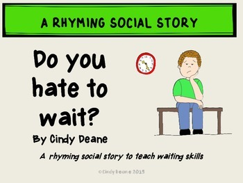 Social Stories for Autism: Do you hate to wait?