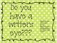 Do you have a writers eye? Bulletin Board