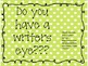 Do you have a writers eye? Bulletin Board