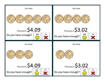 Do you have enough AUSTRALIAN money? Money Task Cards for special education