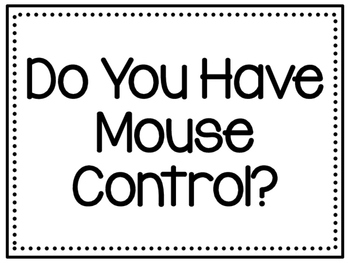 Do you have mouse control?