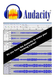 Do you have the Audacity to make your backing tracks?