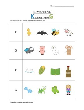 Do You Hear? Minimal Pairs