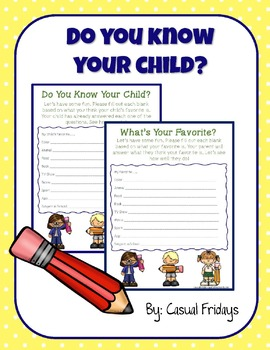 Do you know your child?
