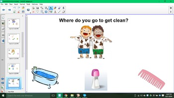 Do you know your daily living skills SMARTboard activity!!!