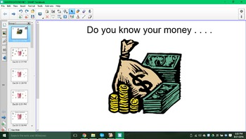 Do you know your money SMARTboard activity!!!