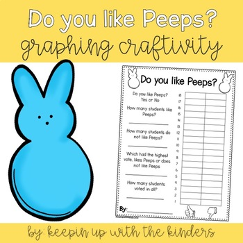 Do you like Peeps? Graphing Craftivity