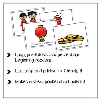Chinese New Year Emergent Reader Activity Pack
