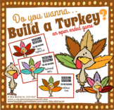 Thanksgiving Game for Any Skill:  BUILD A TURKEY