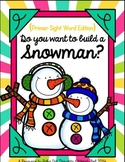 Do you want to build a Snowman? {Primer Sight Words}