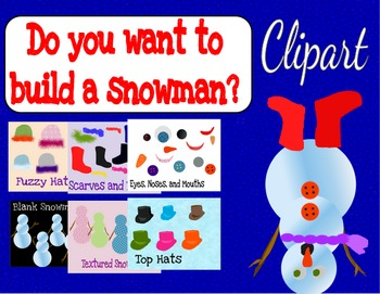 Do you want to build a snowman? Clipart