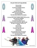 Do your best-OAA-Let it go parady