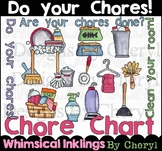 Do your chores Clipart Collection