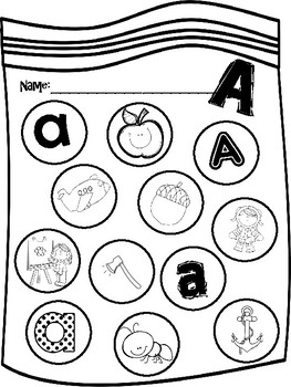 Dobber Dots ABC Pictures Extra Large