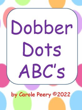 Dobber Dots ABC's