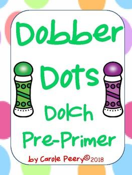 Dobber Dots Dolch Pre-Primer (PreK)