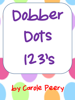 Dobber Dots 123's Numbers