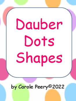 Dobber Dots Shapes
