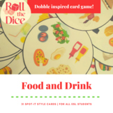 Dobble inspired Food and Drink Game | Distance Learning